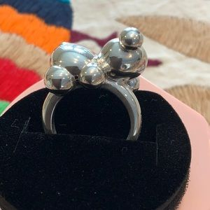 Tous Bubble Recycle Silver Ring